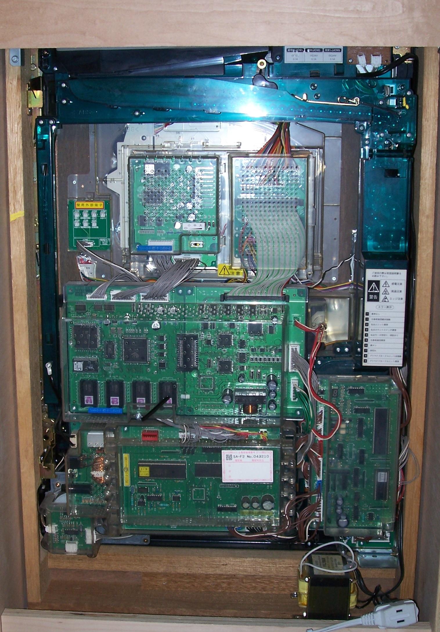 modern pachinko machine